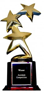 ACCOLATE GLOBAL FILM COMPETITION GOLD STATUE