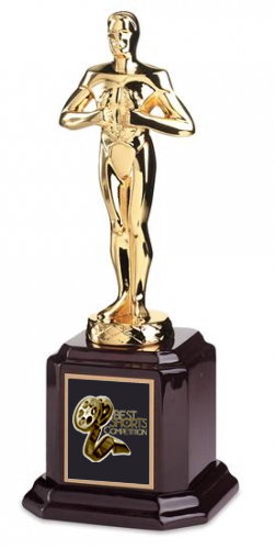 BEST SHORTS COMPETITION GOLD STATUE